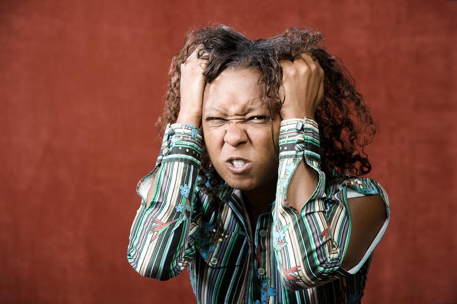 Crazy Black Woman