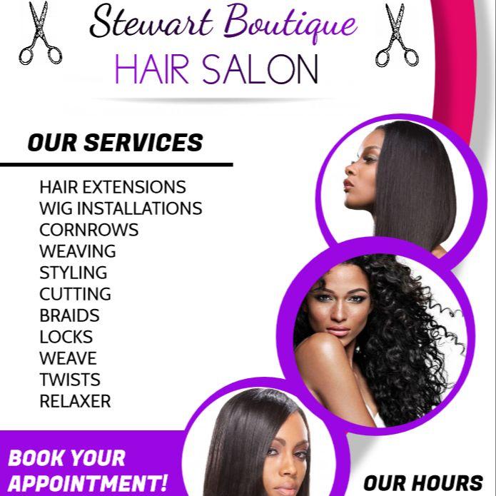 Stewart Beauty & Barber Boutique, LLP