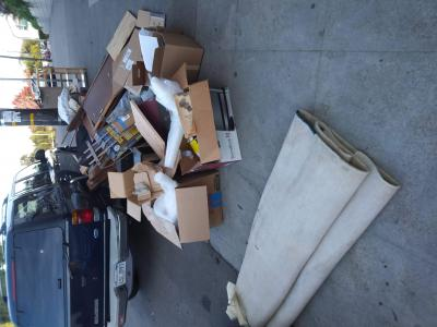 Move out Basement Debris