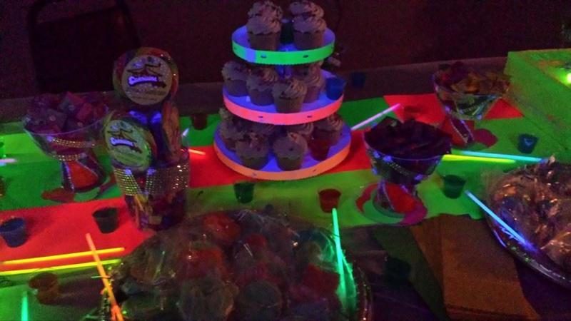 Candy Table Glow