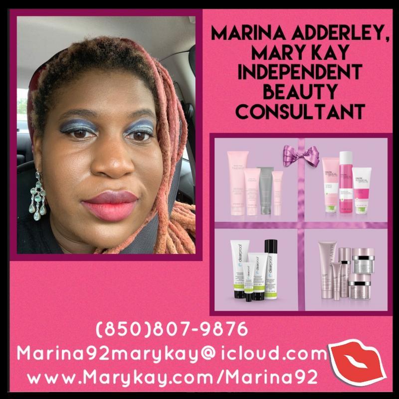 Marina Adderley, Mary Kay Independent Beauty Consultant