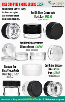 Browse our selection of concentrate dab jars for wax, marijuana (cannabis) etc from the comfort of your home or office. We offer non-stick concentrate containers in plastic, silicone, glass and acrylic for wax, oil and shatter.v
