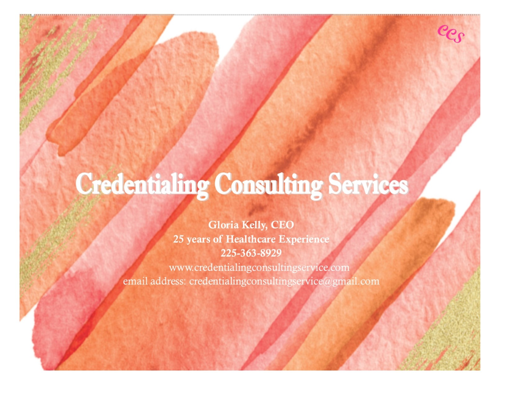 Credentialing Consulting Service
