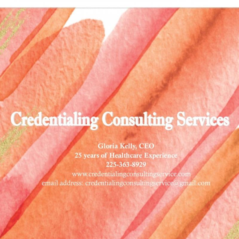 Credentialing Consulting Services