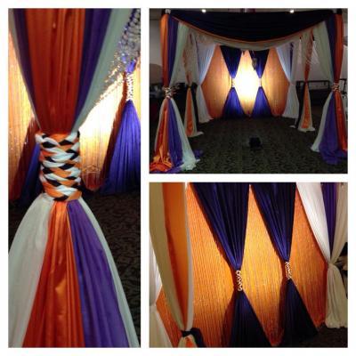 Custom Event Canopy