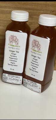 16 oz Ginger Tea