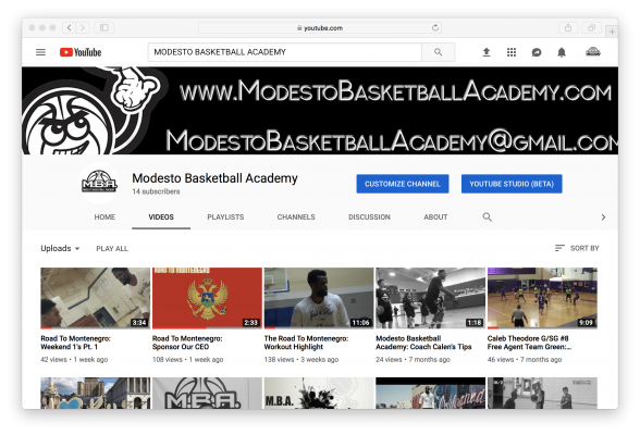 MBA YouTube Screenshot