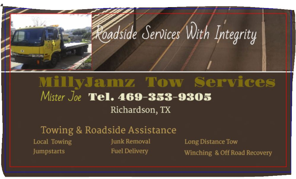 Milly Jamz Tow Services