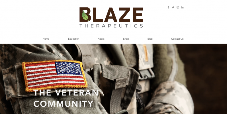 Blaze Therapeutics is also Veteran Owned and dedicated to the Veteran Community