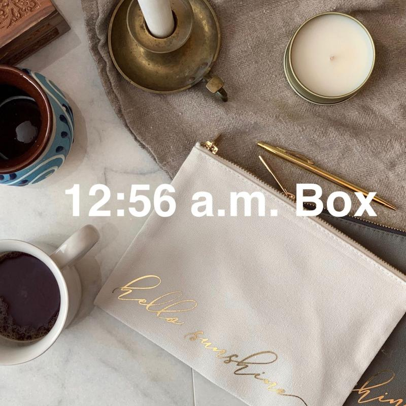 12:56 a.m. Box