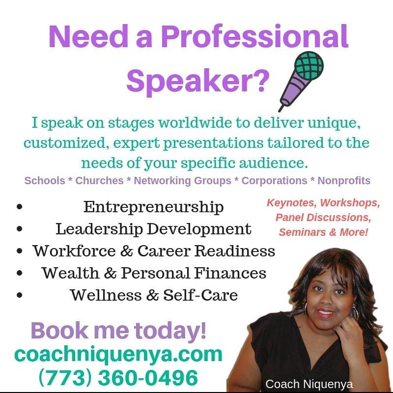 Coach Niquenya - Master Business Coach & Life Skills Strategist