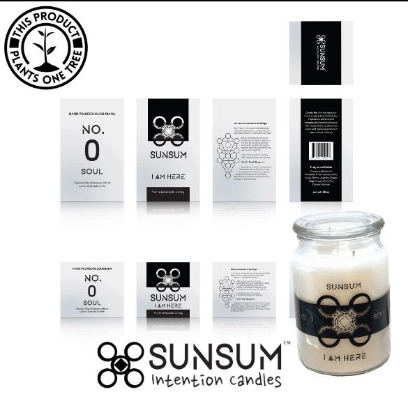 Sunsum Intention Candles