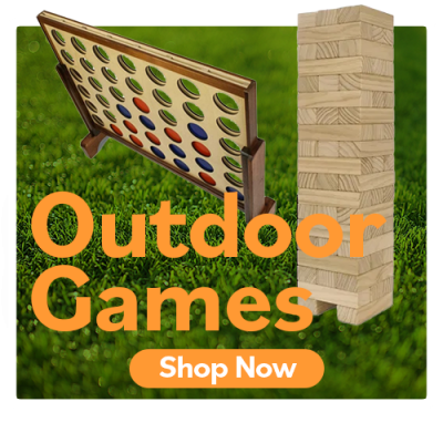Mr. Noru has outdoor games for the whole family!