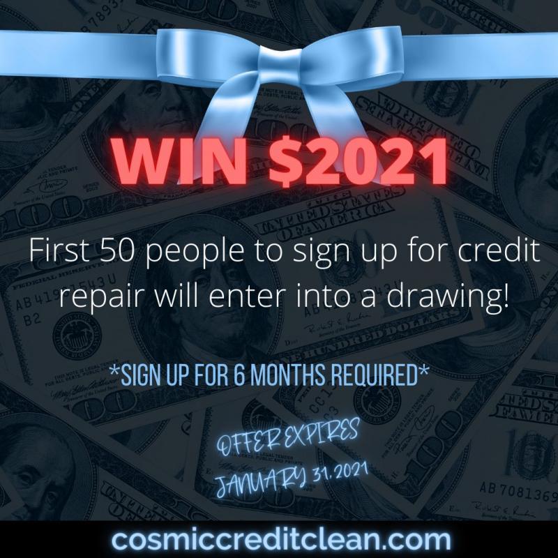 Cosmic Credit Clean