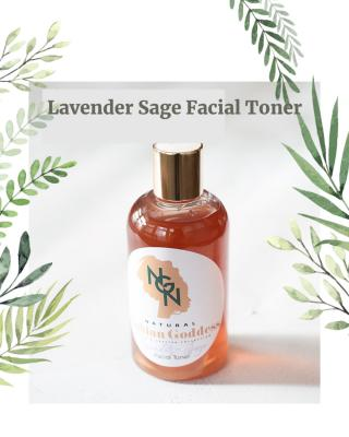 Quality Ingredients: Lavender, Sage, Witch hazel, Lavender essential oil. This product is vegan, no added parabens, no added phthalates, no added gluten.
