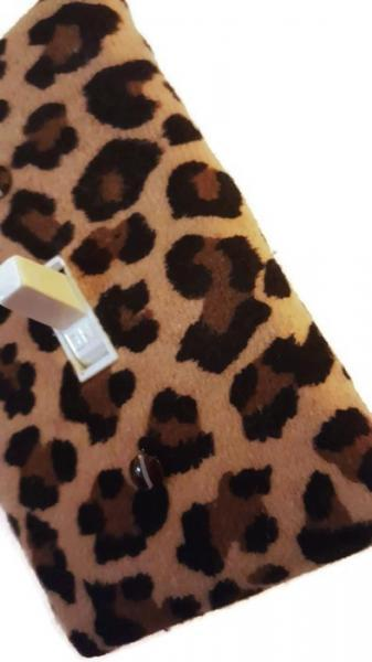 Leopard Light Switch Cover  Add something wild to your home décor.  https://www.etsy.com/listing/261737311/leopard-print-light-switch-cover?ref=listing-shop-header-2