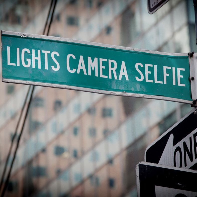 Lights Camera Selfie Gallery
