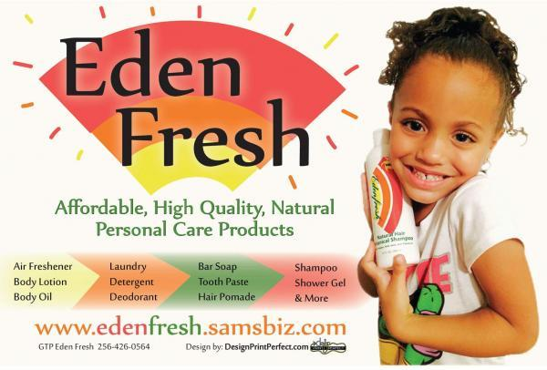 Eden Fresh Personal Care Products