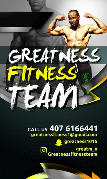 Greatness Fitness Team