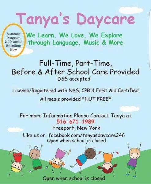 Tanya's Daycare