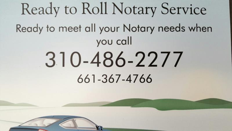 Ready to Roll Mobile Notary Service
