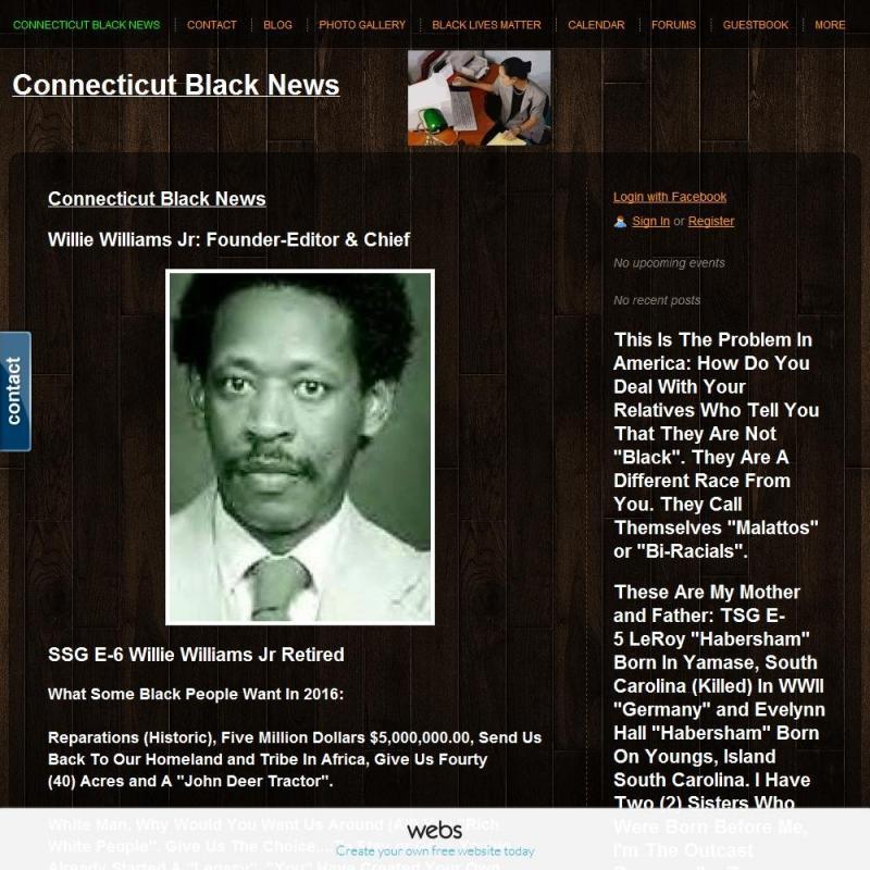 Connecticut Black News Inc