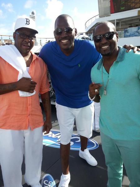 Bobby Brown, comedian George w. and Johnny Gill
