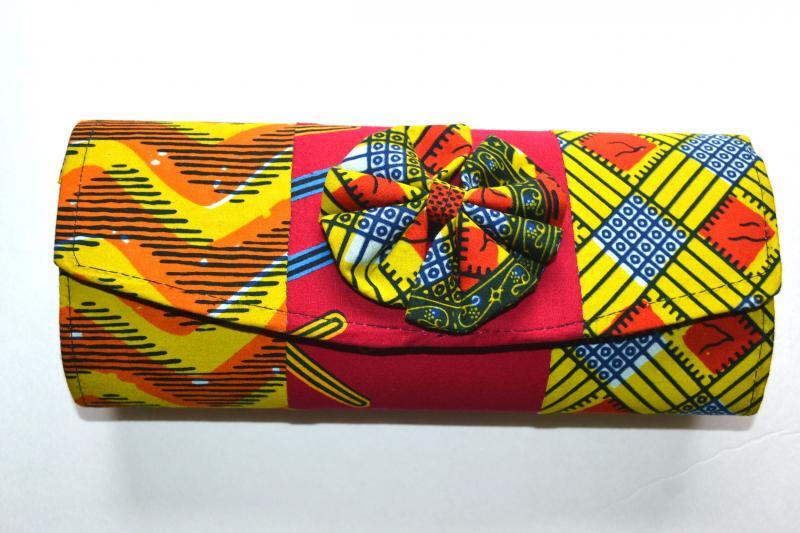 Ankara African Clutch Bag