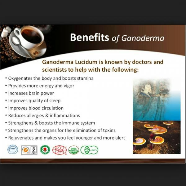 Benefits of Ganoderma.