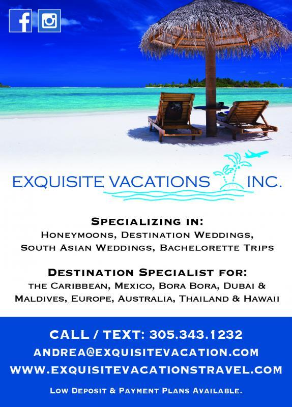 Exquisite Vacations Services