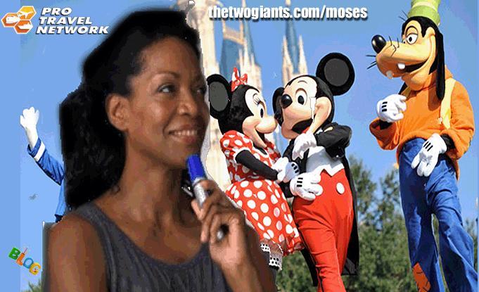 Disney Land  or Disney World from Orlando to California