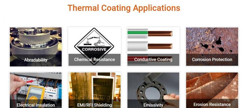 Thermal Coating Applications - A&A Coatings
