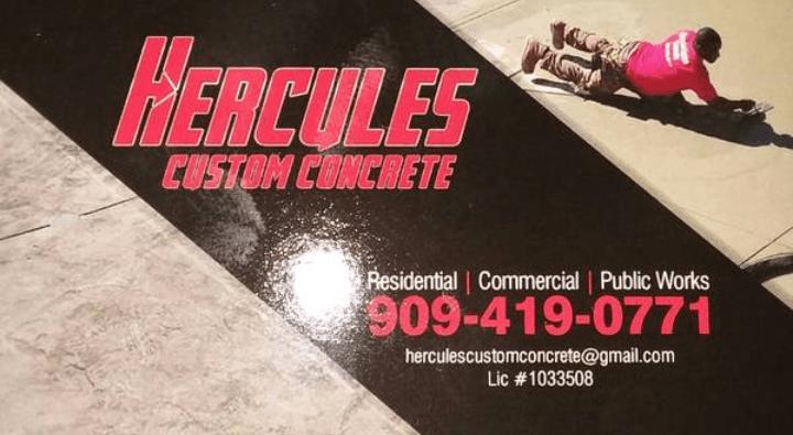 Hercules Custom Concrete