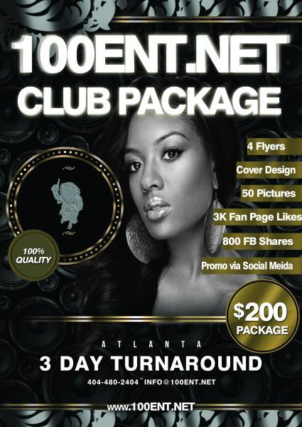 CLUB PACKAGES AVAILABLE