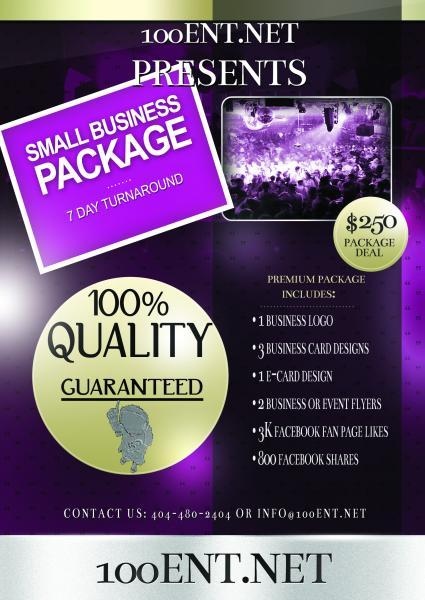 SMALL BUSINESS PACKAGES AVAIL./CUSTOMIZABLE