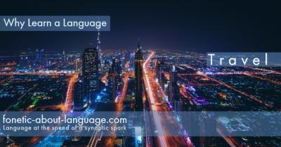Learn a Language for the travel experience