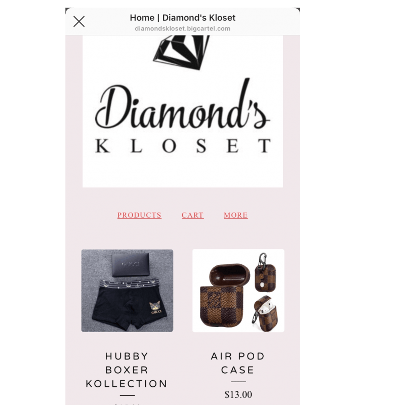 Diamonds Kloset