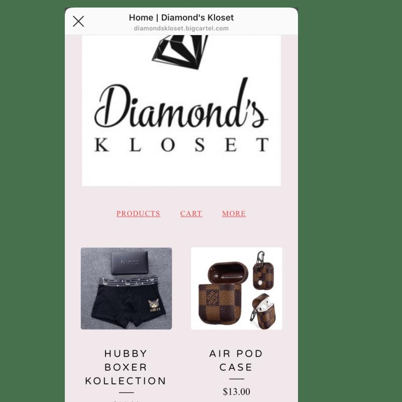 Diamonds Kloset