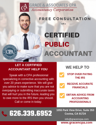 Free Consultation - Individual & Business