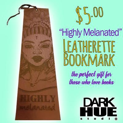 Highly Melanated Bookmark