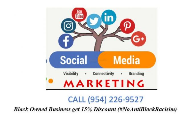 Social Media Services for Black Owned businesses