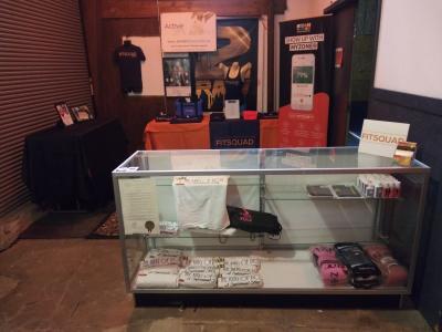 Front Desk & Retail Area